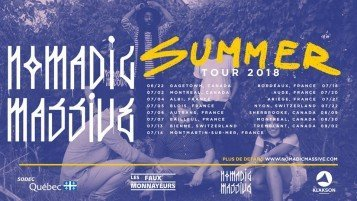 Nomadic Massive Summer Tour 2018