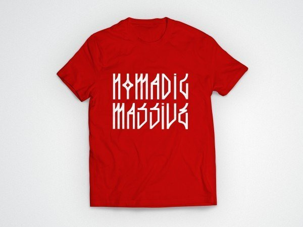Nomadic Massive T-Shirt - Red